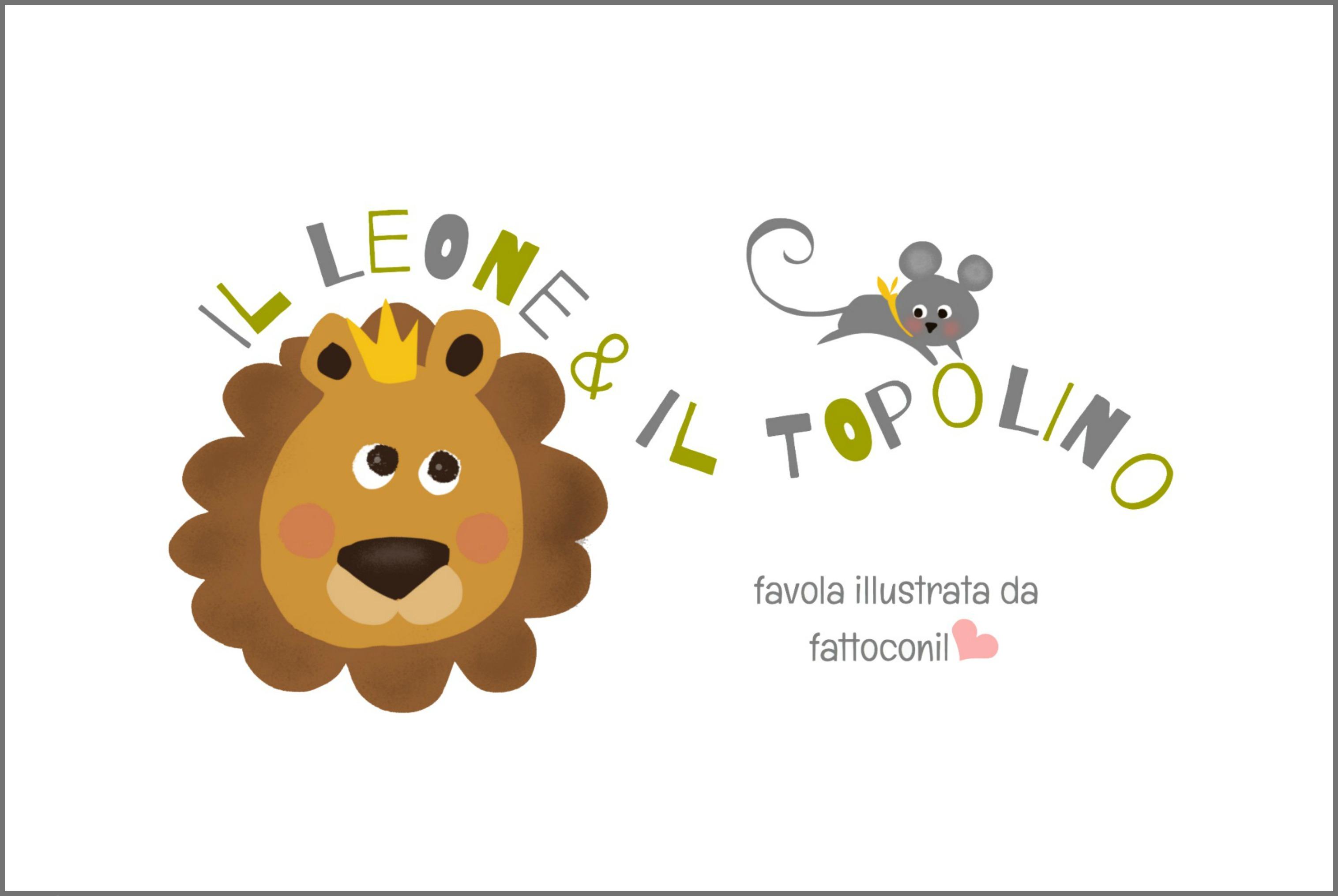 leone e topolino